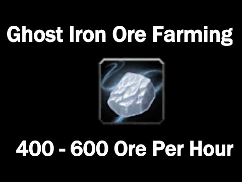 Ghost Iron Ore Farming! 10,000g - 20,000g Per Hour!