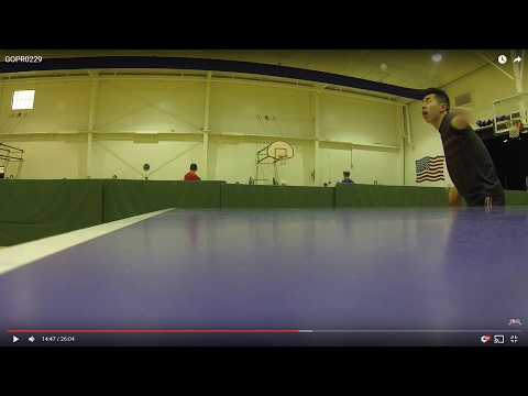 Phoenix, Arizona, USA - Home of America & Landing of the Free Chinese Cai Ping Pong Player GOPR0229