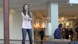Sara Johanne (14) singing