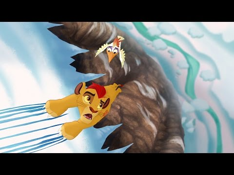 Lion Guard: Hafifu and Majinuni save Kion! | The Lost Gorillas HD Clip
