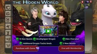 School of Dragons The Hidden World full gameplay screenshot 5
