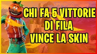 🔴FORTNITE ITA LIVE! WHO WINS 5 TIMES OF FILA MY PRIVATE SERVER WINS A SKIN