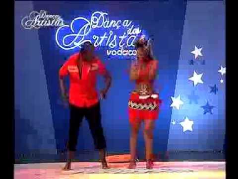 Miss Zav na 2ª Gala do Dança dos Artistas Vodacom