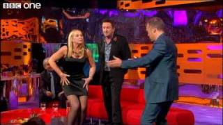 Pamela Stephenson Teaches Graham Norton A Dance  - The Graham Norton Show, Episode 2 - BBC One