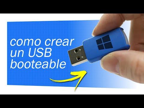 Como Crear Un USB Booteable. Windows 7, 8, 10