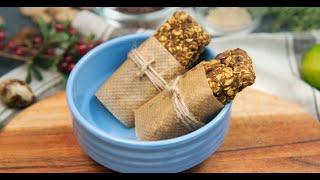 Безглютеновые пряные батончики с тыквой | Исключительная еда