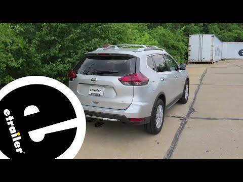 trailer wiring harness installation - 2018 nissan rogue - etrailer com -  youtube