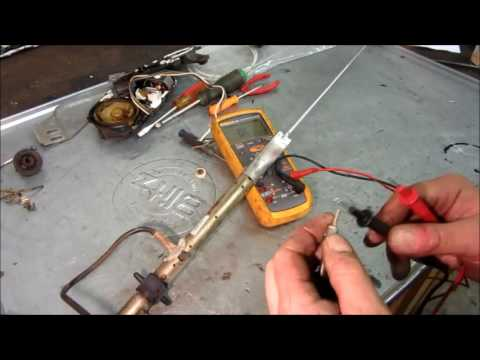 GM Power Antenna Repair – Replace Cable – Motor runs all the time