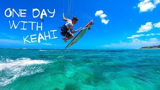 One day with Keahi