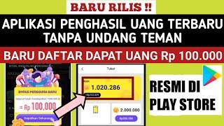 BARU DAFTAR DAPAT UANG 100 RIBU! APLIKASI PENGHASIL UANG 2021  TANPA UNDANG TEMAN screenshot 5