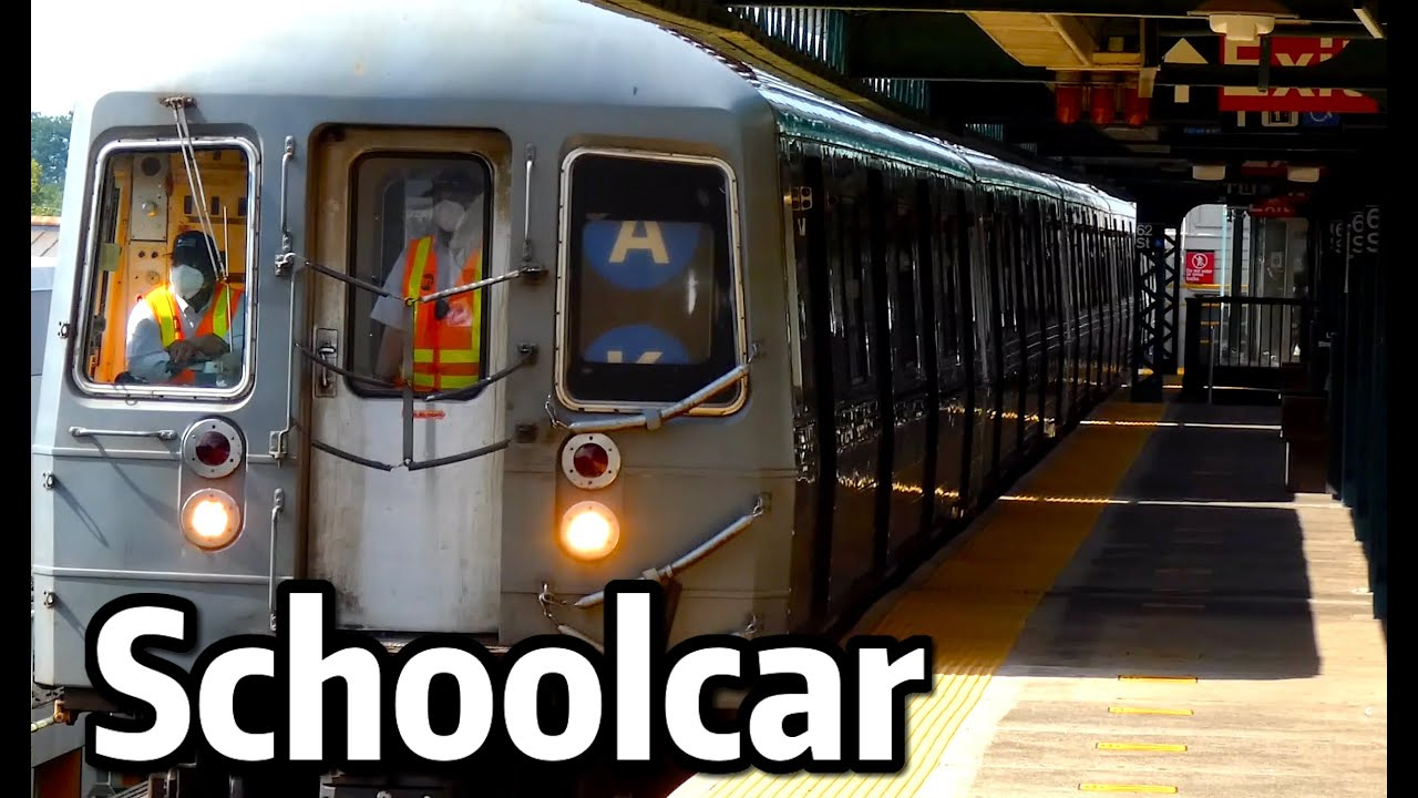 ⁴ᴷ⁶⁰ R68 Schoolcar Operating on the D and Q Lines