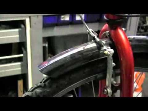 montera handbroms cykel