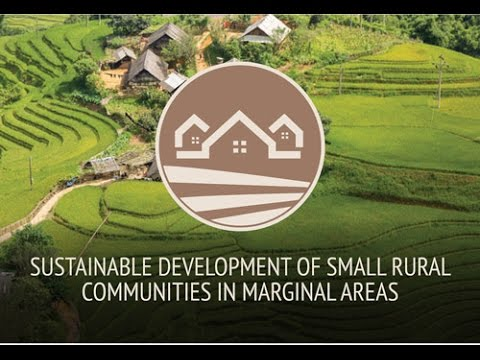 Feeding Knowledge BSDPs week - SUSTAINABLE DEVELOPMENT OF SMALL RURAL COMMUNITIES IN MARGINAL AREAS