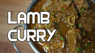 Lamb Curry Recipe  - Mutton Indian Masala Slow cooked tender