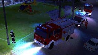 Emergency 4: OSP Żołynia Modification - zabezpieczanie lądowiska LPR - gameplay #3
