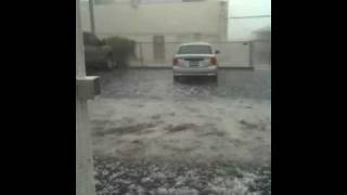 Arizona hail storm Oct 5 2010 (part2)