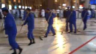 Cleaning of Masjidul Haram-Kaaba uploaded by SHAFI EK THECHYAD