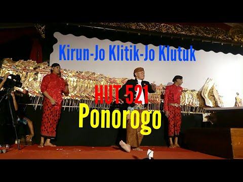 LUCU POOOLL Kirun Jo Klitik Jo Klutuk HUT Ponorogo 521