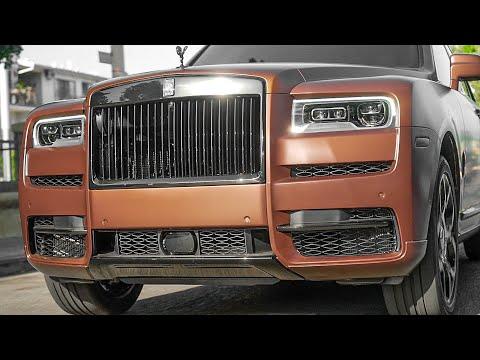 JEFFREE STAR'S Custom CHOCOLATE Rolls Royce Cullinan!