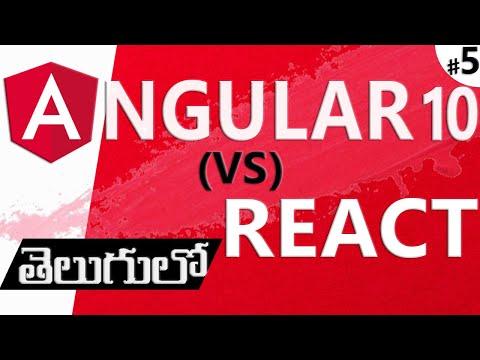 ANGULAR IN TELUGU   ANGULAR VS REACT IN TELUGU thumbnail