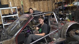 uh oh...Chow built this roll cage...
