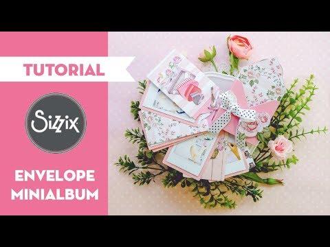 How to make an envelope box minialbum