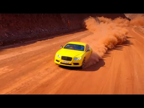 Mine Racing with The Stig's Australian Cousin | Top Gear | Series 22 | BBC