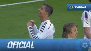 quinto gol de cristiano 9 1 en el real madrid granada cf