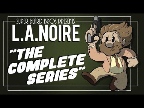 L.A. Noire Cops On The Beat | Ep. #5 | Super Beard Bros