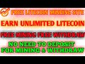 LiteCoin-Mining.net  LIVE WITHDRAW PROOFS +1.079 LTC RECEIVED INSTANTLY!