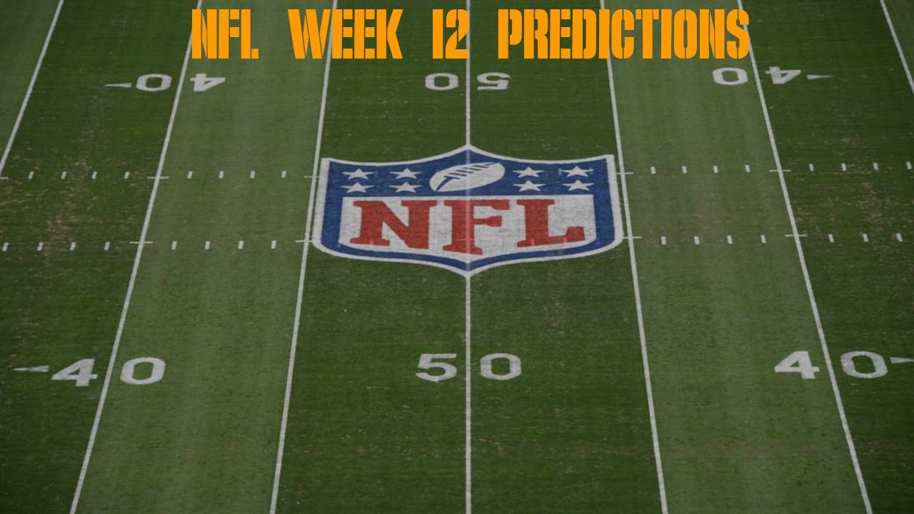 NFL Week 12 Predictions