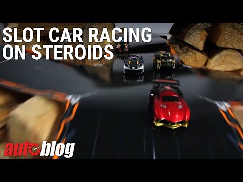 A new twist on slot car racing