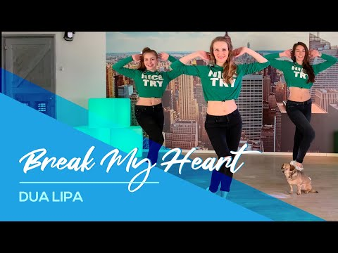 Dua Lipa – Break My Heart – Easy Fitness Dance Choreography – Coreografia – Baile
