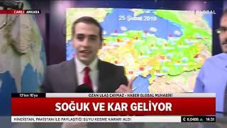 Meteoroloji Uyardı! Hafta Sonu İstanbul'a Yağış, Fırtına ve Kar Geliyor DİKKAT!