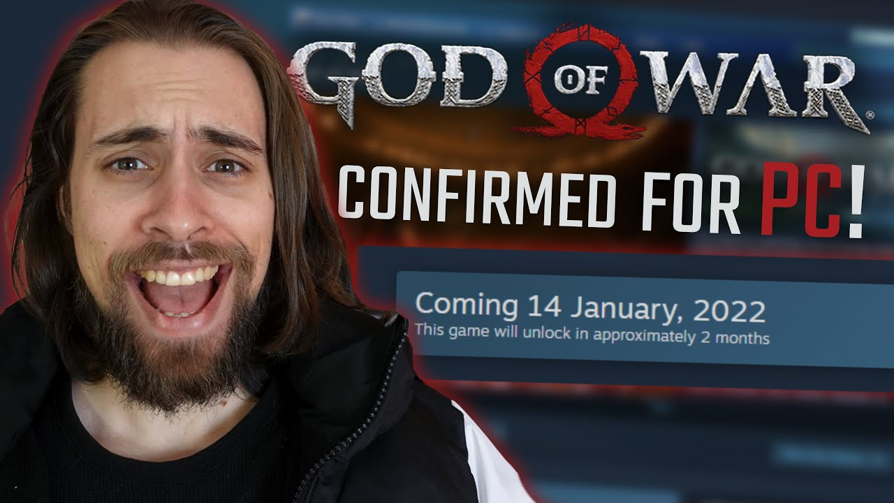 GOD of WAR on PC Confirmed! Already available for Pre-Purchasing!