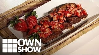 Gluten-Free Chocolate Vegan French Toast Recipe | #OWNSHOW | Oprah Winfrey Network