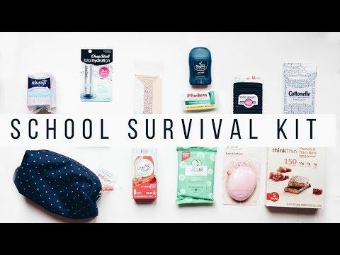 BACK TO SCHOOL ESSENTIALS + DIY SURVIVAL KIT GIVEAWAY