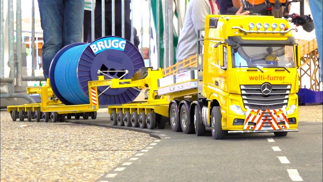 INCREDIBLE RC TRUCK ACTION // CHOMMLE SWISS // SUPER SCALE RC CONSTRUCTION-SITE // SCANIA
