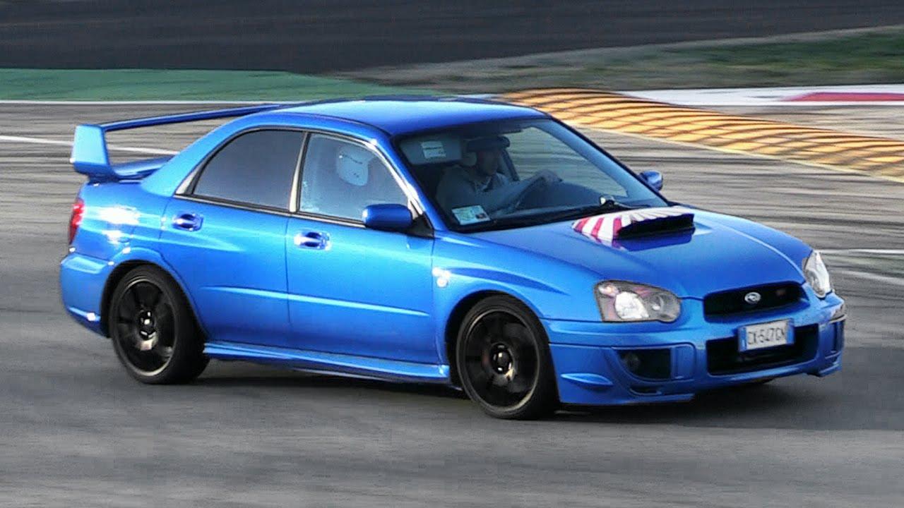 Subaru Impreza WRX STi with LOUD Screamer Pipe  Accelerations