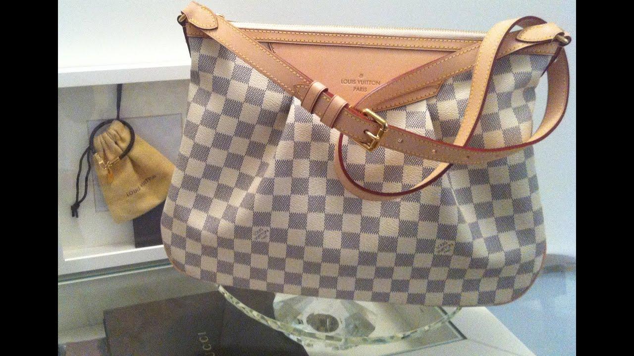 f017146ba Louis Vuitton Unboxing (Siracusa MM Damier Azur) - YouTube