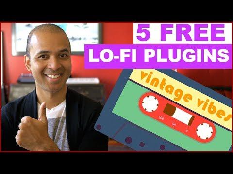 5 FREE Lo-fi Plugins