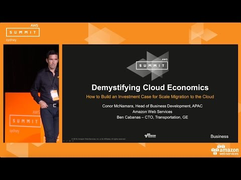 GE Oil & Gas: How to Build an Investment Case for Scale Migration to the Cloud