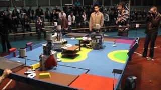 coupe de belgique de robotique 2012 serie 3 plastivore vs cmos