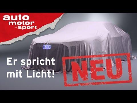 Audi e-tron Sportback concept - Neuvorstellung I Test I Review I auto motor und sport