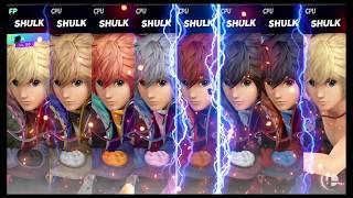 Super Smash Bros Ultimate Amiibo Fights   Request #7832 Shulk frenzy