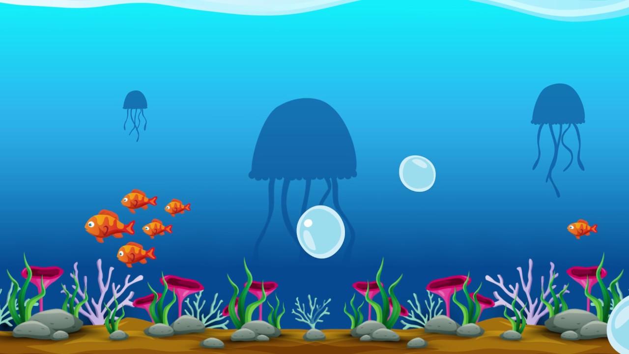 Cocuklar Icin Denizalti Hayvanlar Alemi Underwater Animals Youtube