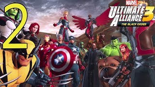 Marvel Ultimate Alliance 3: The Black Order Walkthrough Gameplay  Part 2: The Raft