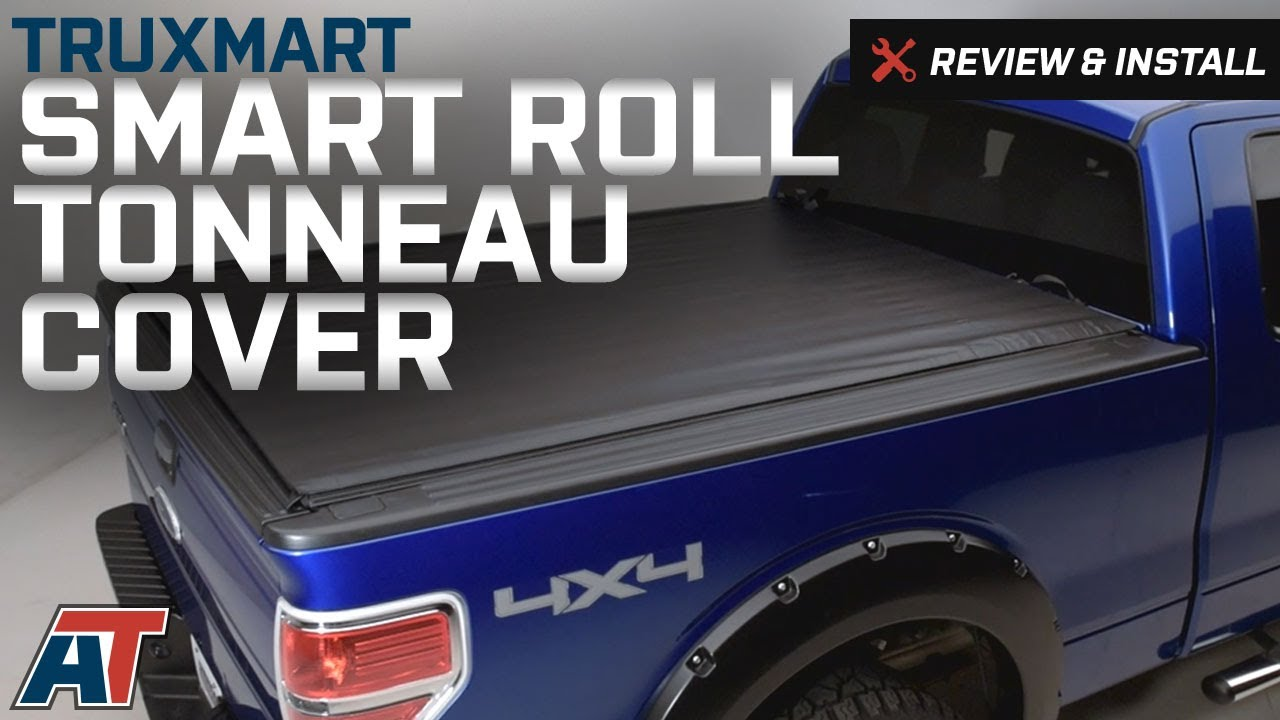 2009 2014 F150 Truxmart Smart Roll Tonneau Cover Review Install Youtube