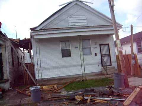 Tornado hit New Orleans