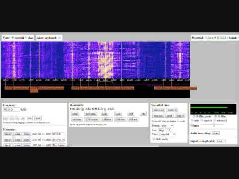 VORW Show 13: Shortwave - WebSDR, How To Use It, Radio Stations